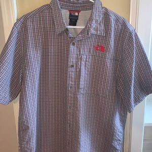 North Face short sleeve button up. Outdoor wear